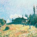 The Station at Sevres Poster by Alfred Sisley