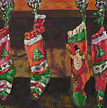 The Stockings Poster by Gloria  Nilsson