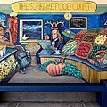 The Supreme Food Court Print by Elizabeth Criss