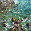 The Surf Print by Korobkin Anatoly