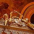 The Tombs at Les Invalides - Paris France - 011319 Print by DC Photographer