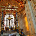 The Tombs at Les Invalides - Paris France - 01136 Print by DC Photographer