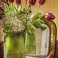 The Tulips Stand Arrayed - A Still Life Poster by Terry Rowe