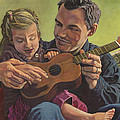 The Ukelele Lesson Poster by Paige Wallis
