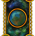 The Universe Print by Nora Blansett