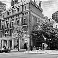 the vancouver club building west hastings street heritage district Vancouver BC Canada Print by Joe Fox