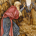 The Vision of Ezekiel The Valley of Dry Bones Print by John Roddam Spencer Stanhope