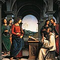 The Vision of St Bernard Poster by Pietro Perugino