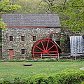 The Wayside Inn Grist Mill Poster by Dawn Puliafico