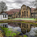 The Welsh Abbey Print by Adrian Evans