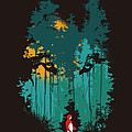 The woods belong to me Poster by Budi Satria Kwan