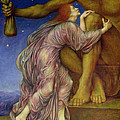 The Worship of Mammon Print by Evelyn De Morgan