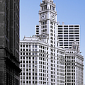 The Wrigley - A building that is pure Chicago Print by Christine Till