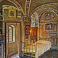 The Yellow Room At Fonthill Castle Poster by Susan Candelario