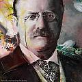 Theodore Roosevelt Print by Corporate Art Task Force