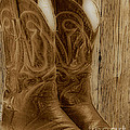 These Boots were Made For Poster by Cheryl Young