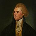 Thomas Jefferson Print by Charles Wilson Peale