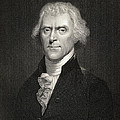 Thomas Jefferson Print by English School