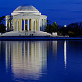 Thomas Jefferson Memorial Print by Andrew Pacheco