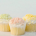 Three Cupcakes Print by Art Block Collections