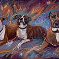 If Dogs Go To Heaven Print by Sherry Strong