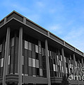 Three Story Selective Color Building Print by Bill Woodstock