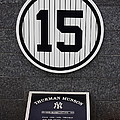 Thurman Munson Poster by Andrew Romer