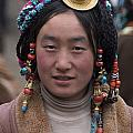 TIBETAN BEAUTY - KHAM Print by Craig Lovell
