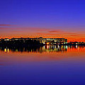 Tidal Basin Sunrise Poster by Metro DC Photography