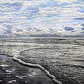 Tide Print by Betsy A  Cutler