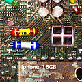 Time For An Iphone Upgrade 20130716 Print by Wingsdomain Art and Photography