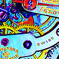 Time In Abstract 20130605 Poster by Wingsdomain Art and Photography
