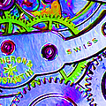 Time In Abstract 20130605p36 Long Poster by Wingsdomain Art and Photography