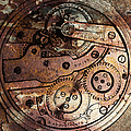 Time In Abstract 20130605rust Square Poster by Wingsdomain Art and Photography