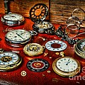 Time - Pocket Watches  Print by Paul Ward