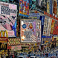 Time Square New York 20130430v3 Poster by Wingsdomain Art and Photography