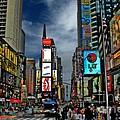 Times Square Print by Jeff Breiman