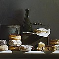 TINS AND DONUTS Print by Larry Preston