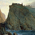 Tintagel On The Cornish Coast Poster by W T Richards
