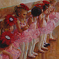 Tiny Dancers Poster by Jeanne Young