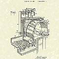 Tobacco Machine 1932 Patent Art Poster by Prior Art Design