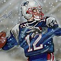 TOM BRADY Print by Dave Olsen