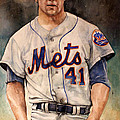 Tom Seaver Poster by Michael  Pattison