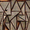 Tommervik Triangle Abstract Elephant Poster by Tommervik