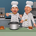 Too Many Cooks 4 Poster by Liam Liberty