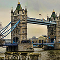 Tower Bridge on the River Thames Print by Heather Applegate