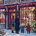 Toy Shop Variant 2 Print by Steve Read