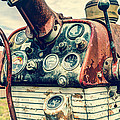 Tractor Dash - Farmall 560 Diesel Poster by Gary Heller