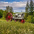 Tractor Out To Pasture Print by Henry Kowalski