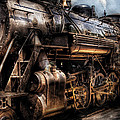 Train - Engine -  Now boarding Print by Mike Savad